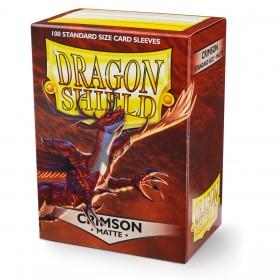 Dragon Shield Matte - Purpurrot (100 Hüllen)