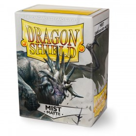 Dragon Shield Matte - Hellgrau (100 Hüllen)