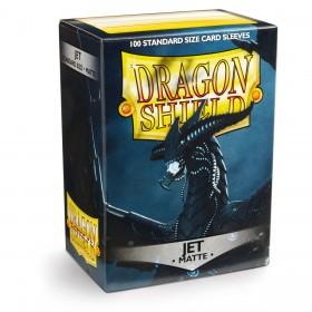 Dragon Shield Matte - Tiefschwarz (100 Hüllen)