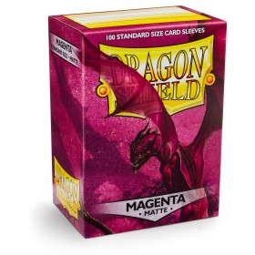 Dragon Shield Matte - Magenta (100 Hüllen)
