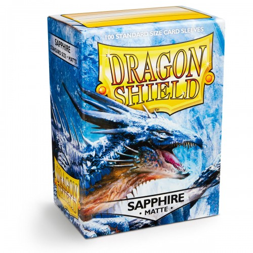 Dragon Shield Matte - Saphirblau (100 Hüllen)
