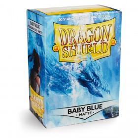 Dragon Shield Matte - Babyblau (100 Hüllen)