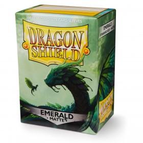Dragon Shield Matte - Smaragdgrün (100 Hüllen)