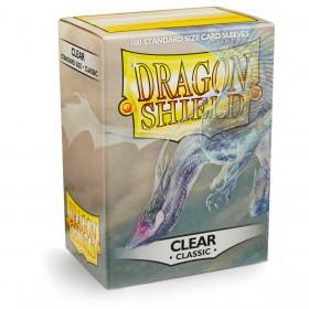 Dragon Shield Classic - Klar/Durchsichtig (100 Hüllen)
