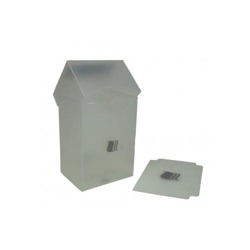 Blackfire Deck Holder Vertical 80+ Klar/Durchsichtig