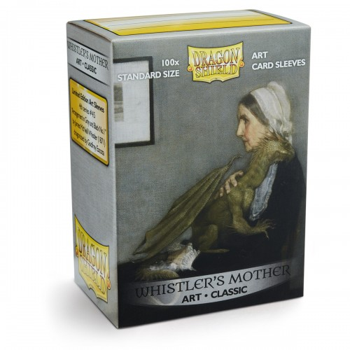 Dragon Shield ART Classic - Whistlers Mother (100 Hüllen)