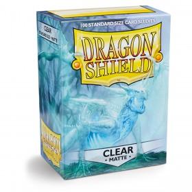 Dragon Shield Matte - Klar/Durchsichtig (100 Hüllen)