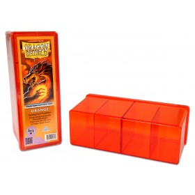 Dragon Shield Four Compartment Storage Box - Orange