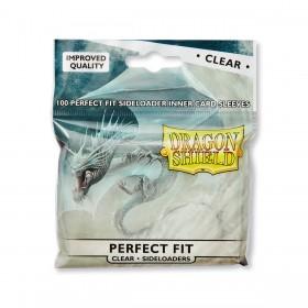 Dragon Shield Perfect Fit Seiteneinschub - Klar/Durchsichtig (100 Hüllen)