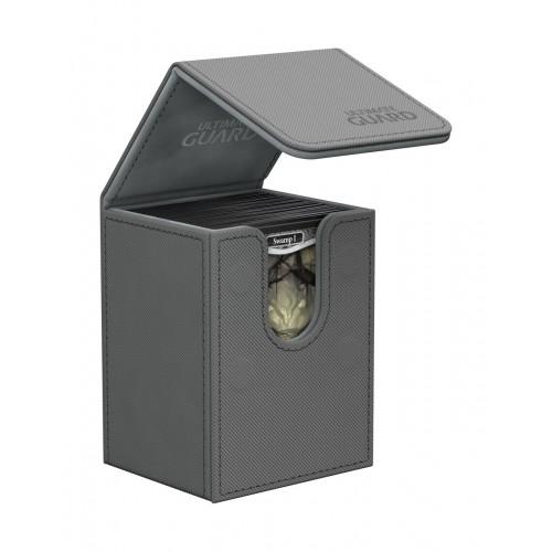 Ultimate Guard Flip Deck Case 80+ XenoSkin Grau