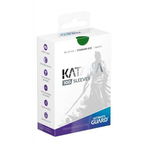 Ultimate Guard Katana Hüllen Grün (100 Hüllen)