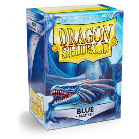 Dragon Shield Matte - Blau (100 Hüllen)