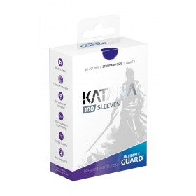 Ultimate Guard Katana Hüllen Blau (100 Hüllen)