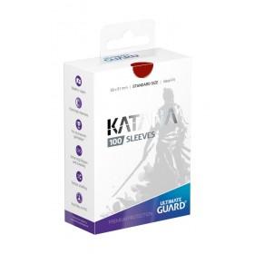 Ultimate Guard Katana Hüllen Rot (100 Hüllen)