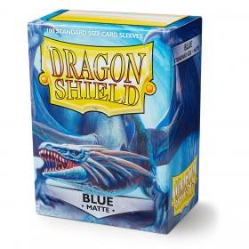 Dragon Shield Matte - Blau (100 Hüllen)