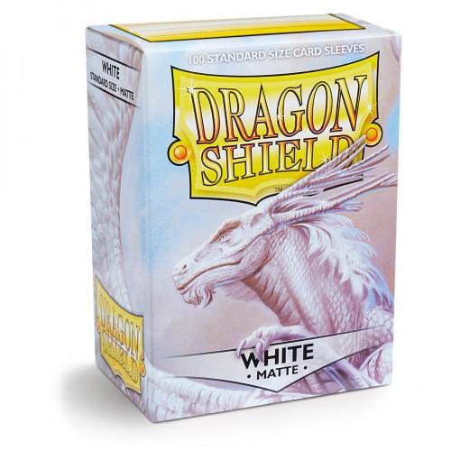Dragon Shield Matte - Weiß (100 Hüllen)