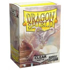 Dragon Shield Matte Non-Glare - Klar/Durchsichtig (100 Hüllen)