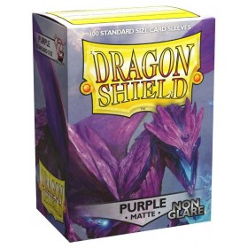 Dragon Shield Matte Non-Glare - Lila (100 Hüllen)