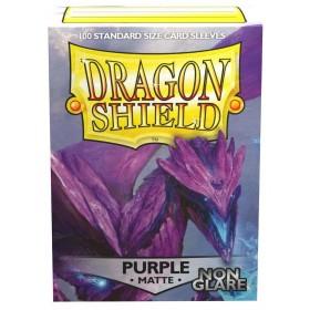 Dragon Shield Matte Non-Glare - Lila (100 Hüllen)