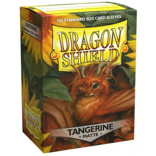 Dragon Shield Matte - Mandarine (100 Hüllen)