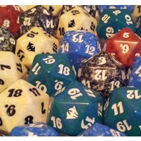 WotC - Zufälliger 20-seitiger Countdown Würfel aus Bundles/Decksets