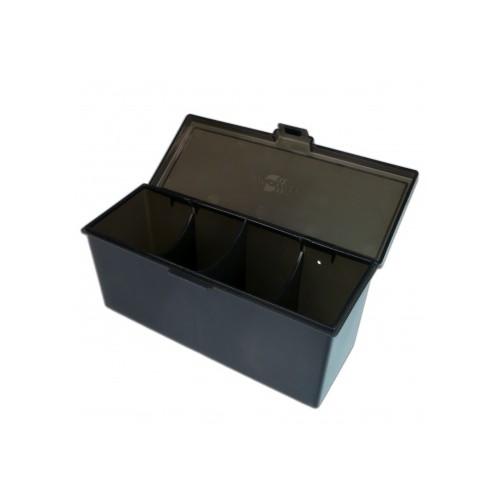 Blackfire 4-Compartment Storage Box – Schwarz