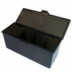 Blackfire 4-Compartment Storage Box – Schwarz