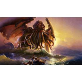 Kraken Wargames TCG Spielmatte Cthulhu