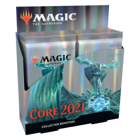 Core Set 2021 Collector Booster Display -- Englisch
