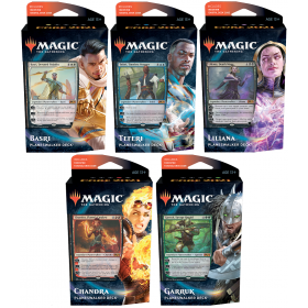 Core Set 2021 Planeswalker Deck Set with 5 Decks -- Englisch