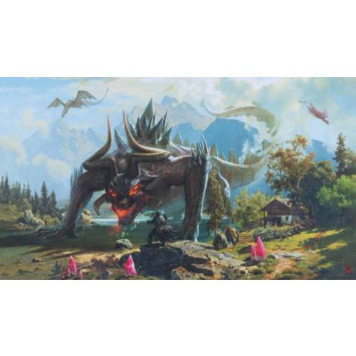 Kraken Wargames TCG Spielmatte Behemoth