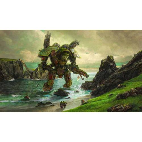 Kraken Wargames TCG Spielmatte Lord of War