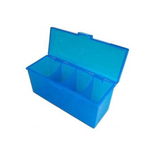 Blackfire 4-Compartment Storage Box – Blau
