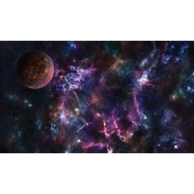 Kraken Wargames TCG Spielmatte Space Sector 6