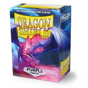 Dragon Shield Matte - Lila (100 Hüllen)
