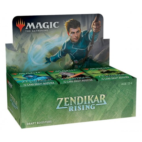 Zendikars Erneuerung Draft Booster Display