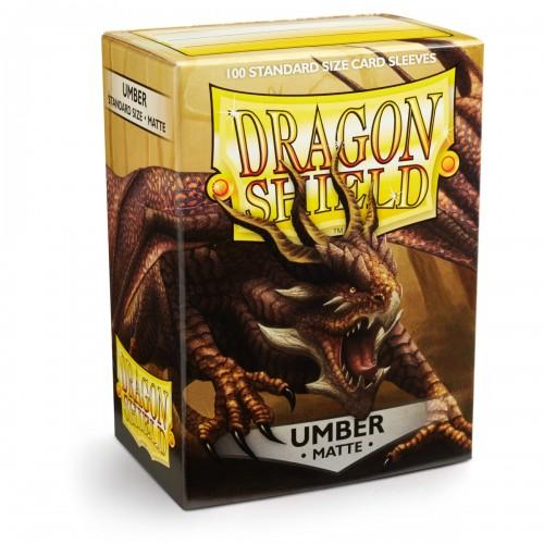 Dragon Shield Matte - Braun (100 Hüllen)