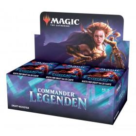 Commander Legenden Draft Booster Display