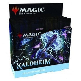 Kaldheim Collectors Booster Display -- Englisch