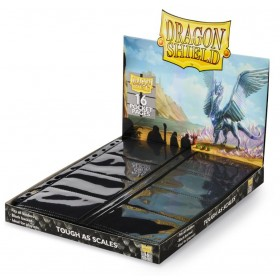 Dragon Shield 16-Taschen Ordnerseiten schwarz (50 Seiten)