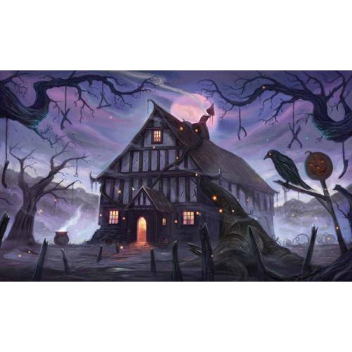 Kraken Wargames TCG Spielmatte Magic of Halloween