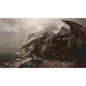 Kraken Wargames TCG Spielmatte Wolf Dragon