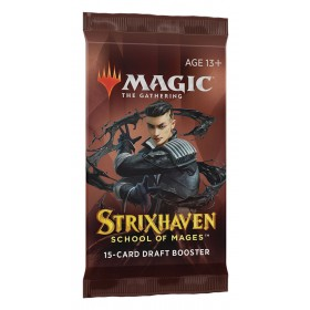 Strixhaven: School of Mages Draft Booster Pack -- Englisch