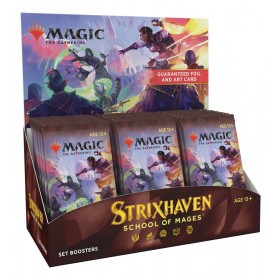 Strixhaven: School of Mages Set Booster Display -- Englisch