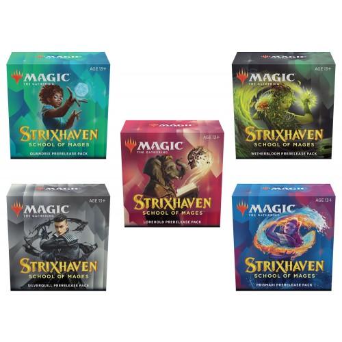 Strixhaven: Akademie der Magier Prerelease Packs (5-er Set)
