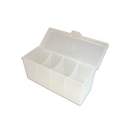 Blackfire 4-Compartment Storage Box – Klar/Durchsichtig