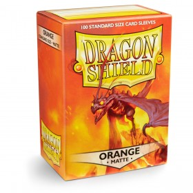 Dragon Shield Matte - Orange (100 Hüllen)