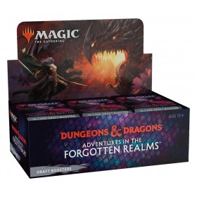 Adventures in the Forgotten Realms Draft Booster Display -- Englisch