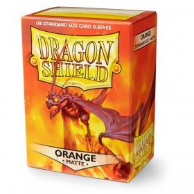 Dragon Shield Matte - Orange (100 Hüllen)
