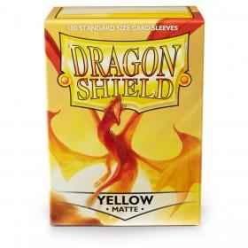 Dragon Shield Matte - Gelb (100 Hüllen)